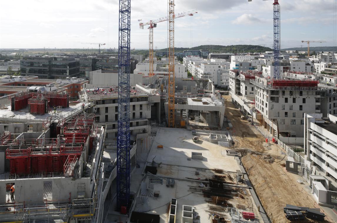 La Place du Grand Ouest - A droite : la future rue Florence Arthaud